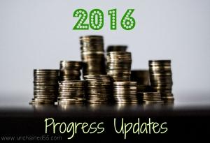 2016 Progress Updates