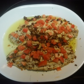Satueed Barramundi with Lemon Butter