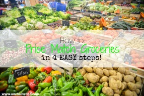 How to Price Match groceries in 4 easy steps