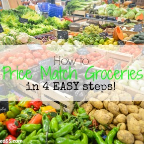 How to Price Match groceries in 4 easysteps