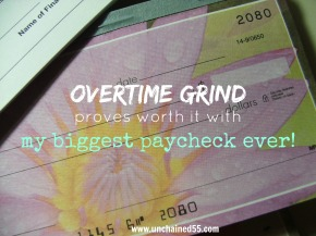 Overtime grind proves worth it with my biggest paycheck ever!