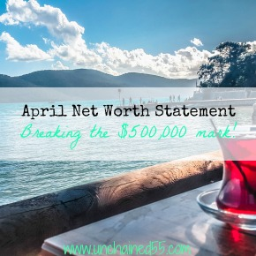 Net Worth Statement – April 30, 2016